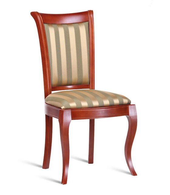 klassischer Holzstuhl massiv Esszimmerstuhl Design Bürostuhl Royal Stuhl günstig kaufen   eBay