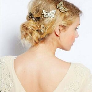 Butterfly-Hair-Clips-Girls-Retro-Women-Hairpins-Vintage-Gold-Silver-Cilp-Fashion