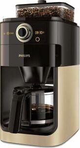 PHILIPS-Grind-amp-Brew-HD7768-90-Kaffeemaschine-mit-Glaskanne
