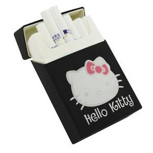 Hello-Kitty-Silicone-Cigarette-Pocket-Case-Box-Holder-Tobacco-20-Black
