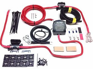 3mtr professional split charge kit 12 way fuse box for camper van rh ebay co uk