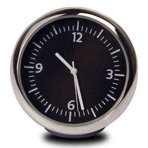 Details about Car Dashboard Mini Quartz Watch Pointer Digital Clock  Luminous Time Clock Tools