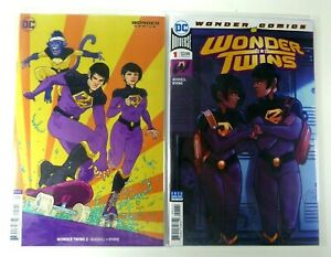 DC-WONDER-TWINS-2019-1-1st-Print-2-Cover-B-VARIANT-LOT-NM-9-4-Ships-FREE