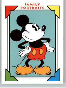 1991 Impel Mickey Mouse Family Portrait #100