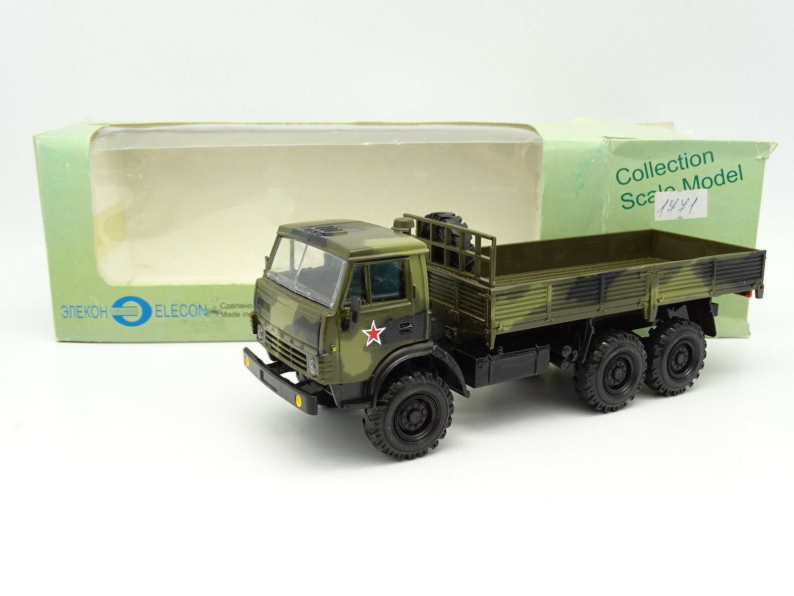 Elecon Russie 1 43 - Kamaz 43105 Plateau Militaire Russian Army
