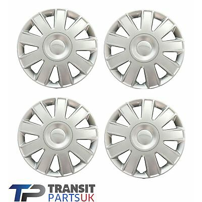 "FORD TRANSIT CONNECT 15"" WHEEL TRIMS 2009 - 2014 SET OF 4 HUB CAP COVER"