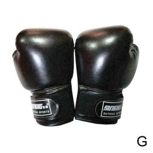 Kids Boxing Gloves For Fun Muay Thai Sanda Martial F9U7 Punching Arts Glove O1N5