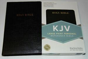 KJV-Holy-Bible-Large-Print-Black-Bonded-Leather-Cover-King-James-Version