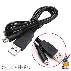 Nintendo-DSi-und-Ds-i-XL-Ladekabel-USB-NDSi-Stromkabel-1-2m-Datenkabel-New