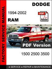 Fits 1997-2001 dodge ram 2500 paper repair manual chilton 54629mz.