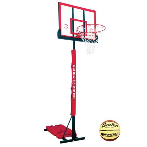 10Ft Easishot Basketball Hoop With Acrylic Backboard And Padding