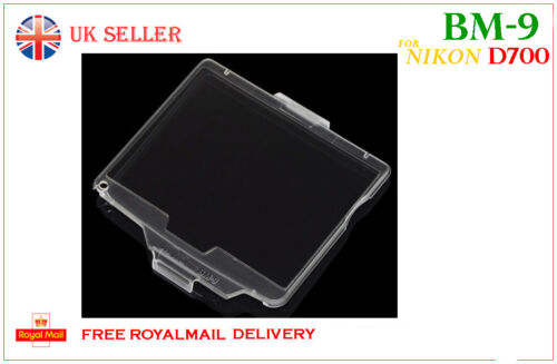 BM-9  Hard LCD Cover Screen Monitor Protector BM9 for Nikon D700 UK Sale