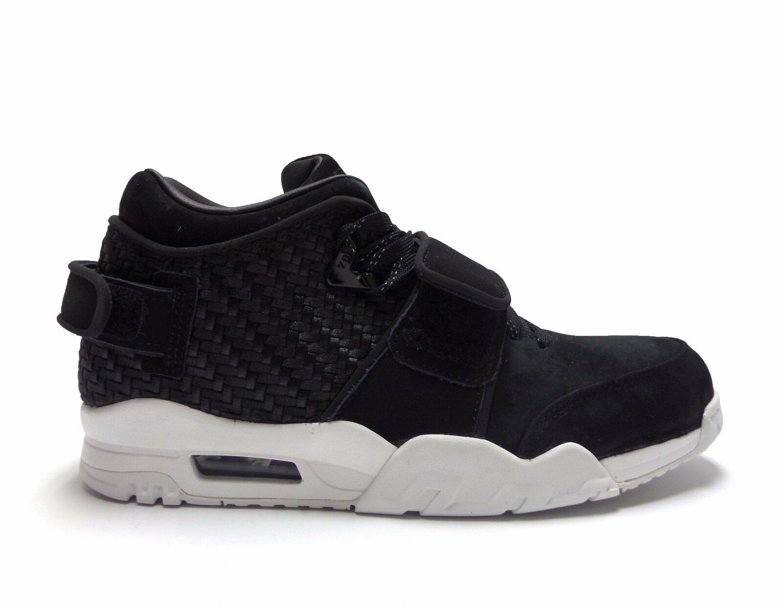 Nike Men's AIR TRAINER VICTOR CRUZ Black Suede Shoes 777535-004 a Seasonal clearance sale