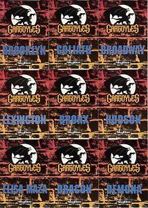 9 1995 GARGOYLES POP UP CARDS LOT OF