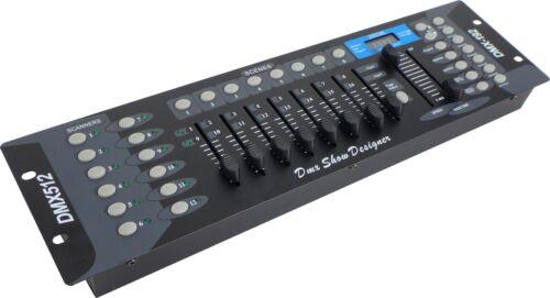 Scanoperator 192-Kanal DMX Controller DC 1216 MKII Lichtpult ausf dt Bed.Anl.