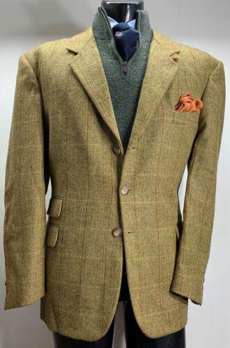 L'esquimau Wool Tweed Window Pane Sport Coat Shoot