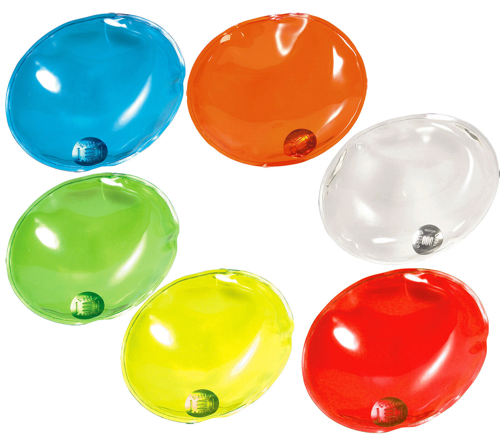 25 Ovali Riutilizzabili Calore Pad   Scalda Mani Sci   Tempo Freddo 6 Colour