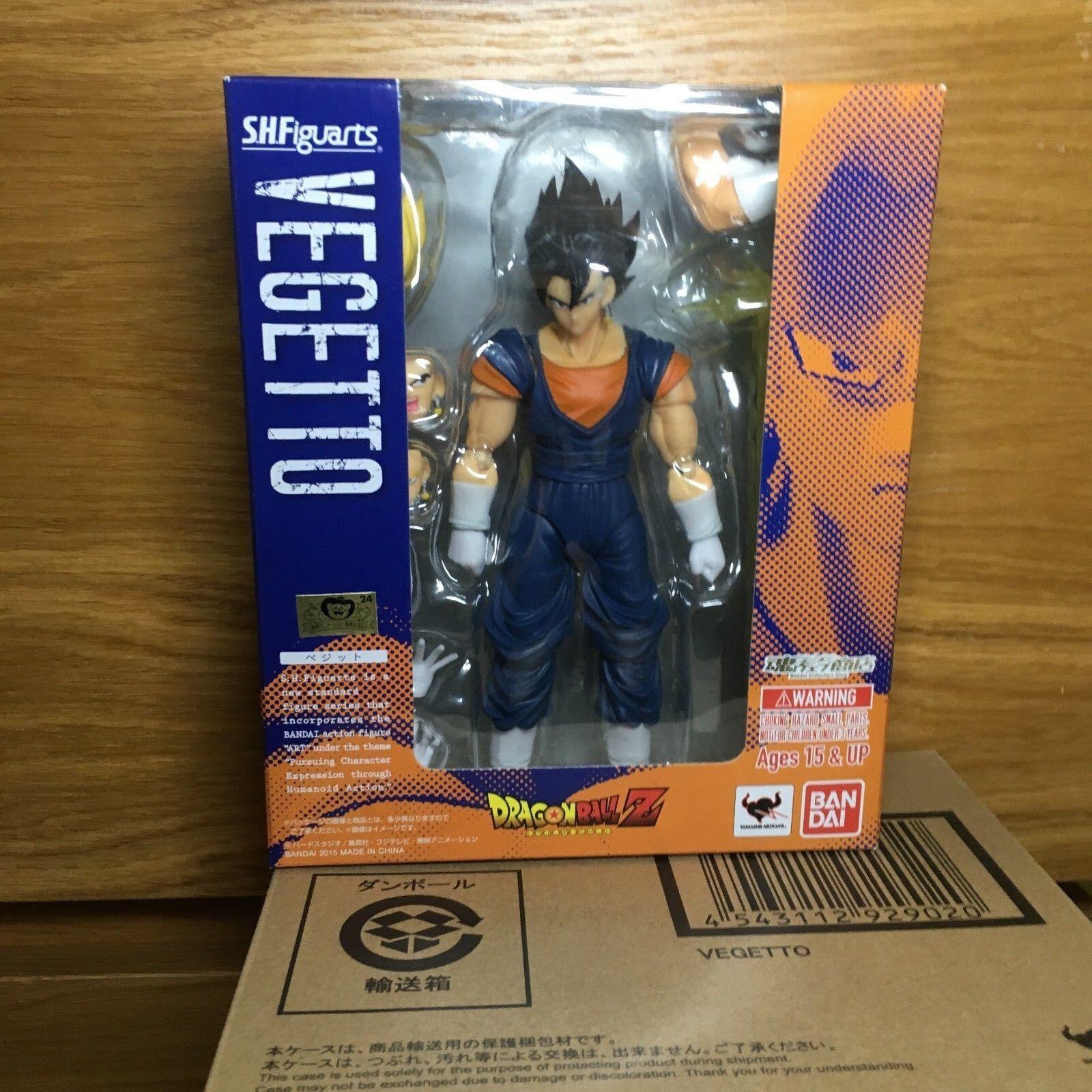 DragonBall Z Bandai SH Figuarts Figuarts Figuarts Vegetto Action Figure Model 55a7a7