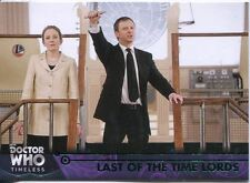 Doctor Who Timeless Green Parallel Base Card #58 Last of the Time Lords