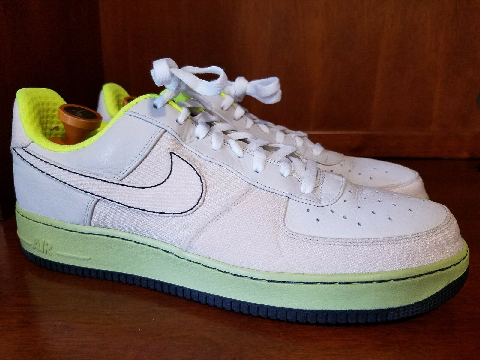 Nike Air Force 1 Premium US 07 Fashion Sneakers Size US Premium 14, 315180-002 201194