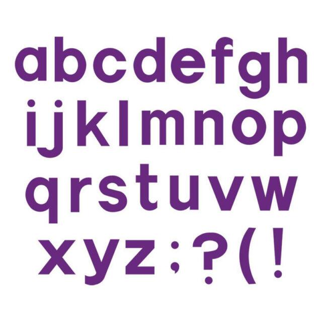 Fustella sizzix alfabeto minuscolo block a10082 stampa for L allegro stampatello