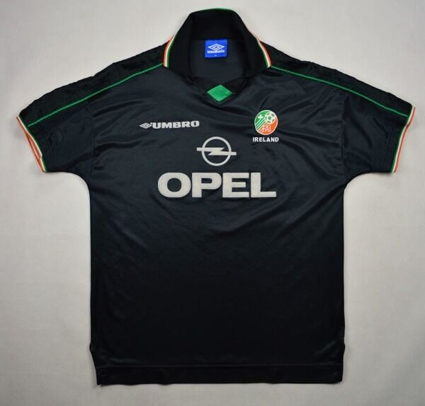 Umbro 1998-99 IRELAND SHIRT XL Shirt Jersey Kit