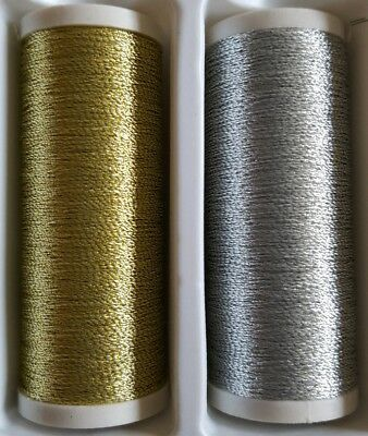 New High Quality Silver Metallic 1 x 100m Sewing Thread For Hand Or Machine