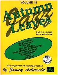 Musical Instruments & Gear 2019 Fashion Aebersold 044 Autumn Leaves Book/cd* To Produce An Effect Toward Clear Vision