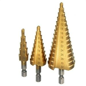 1-Pcs-Large-HSS-Steel-Step-Cone-Drill-Titanium-Bit-Hole-Cutter-4-12-20-32mm