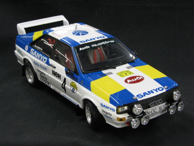 Sun Star Audi Quattro Coupé 1982 1 18 Blomqvist   Cederberg Rally SWE (MCC)