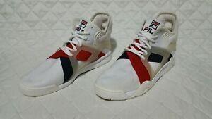 Details about Fila the Cage 17 Men's Sneaker Shoes Gym Athletic White  1BM00026 125 Sz 12