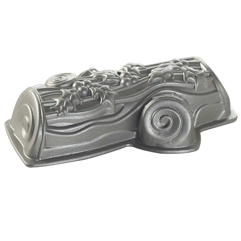 NÓRDICO WARE molde profesional para pasteles de aluminio Yule Log tubo pan