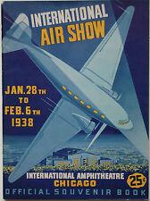 Official Souvenir Book for the 1938 Chicago International Air Show