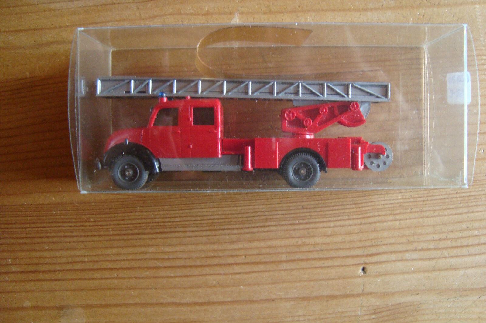 Wiking Mercedes Benz Feuerwehr 620  34D Leiterwagen