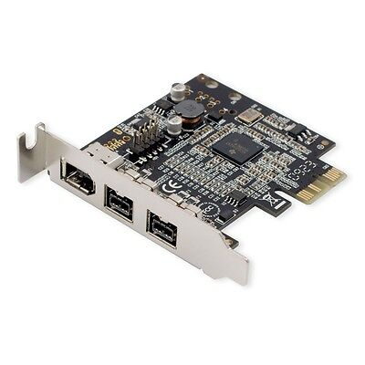Point Grey Research FWB-PCIE-01 FirePro 1394b Low Profile 2-Port FireWire Card