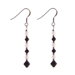 Jet-and-Opal-Sterling-silver-earrings-crystal-Gothic-Victorian-Striped-stripe