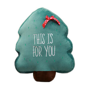 2016-Cute-Plush-Cushion-Christmas-Tree-2-sizes-for-home-decor-kids-bedroom