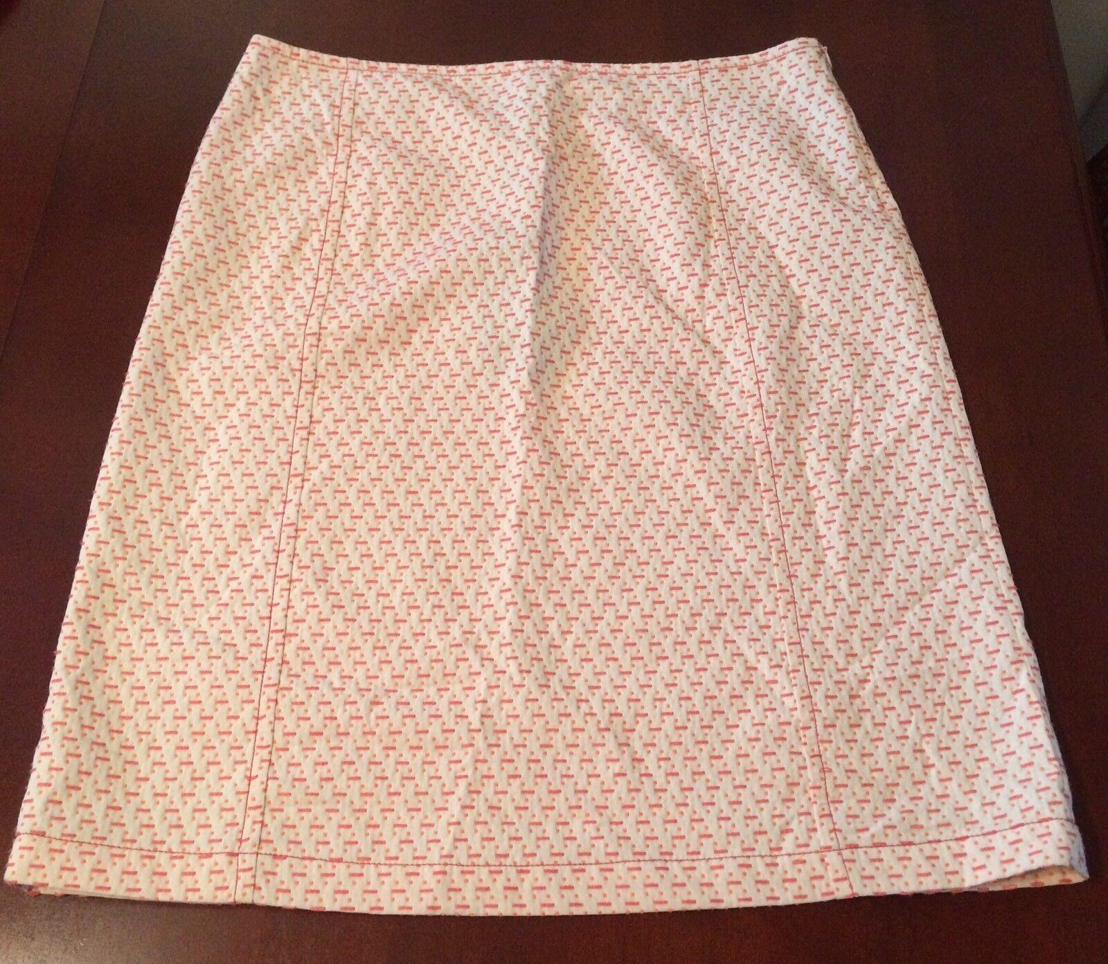 NWT Weekend Max Mara Women's Knee Length Skirt Cotton Made In  Sz 14 R