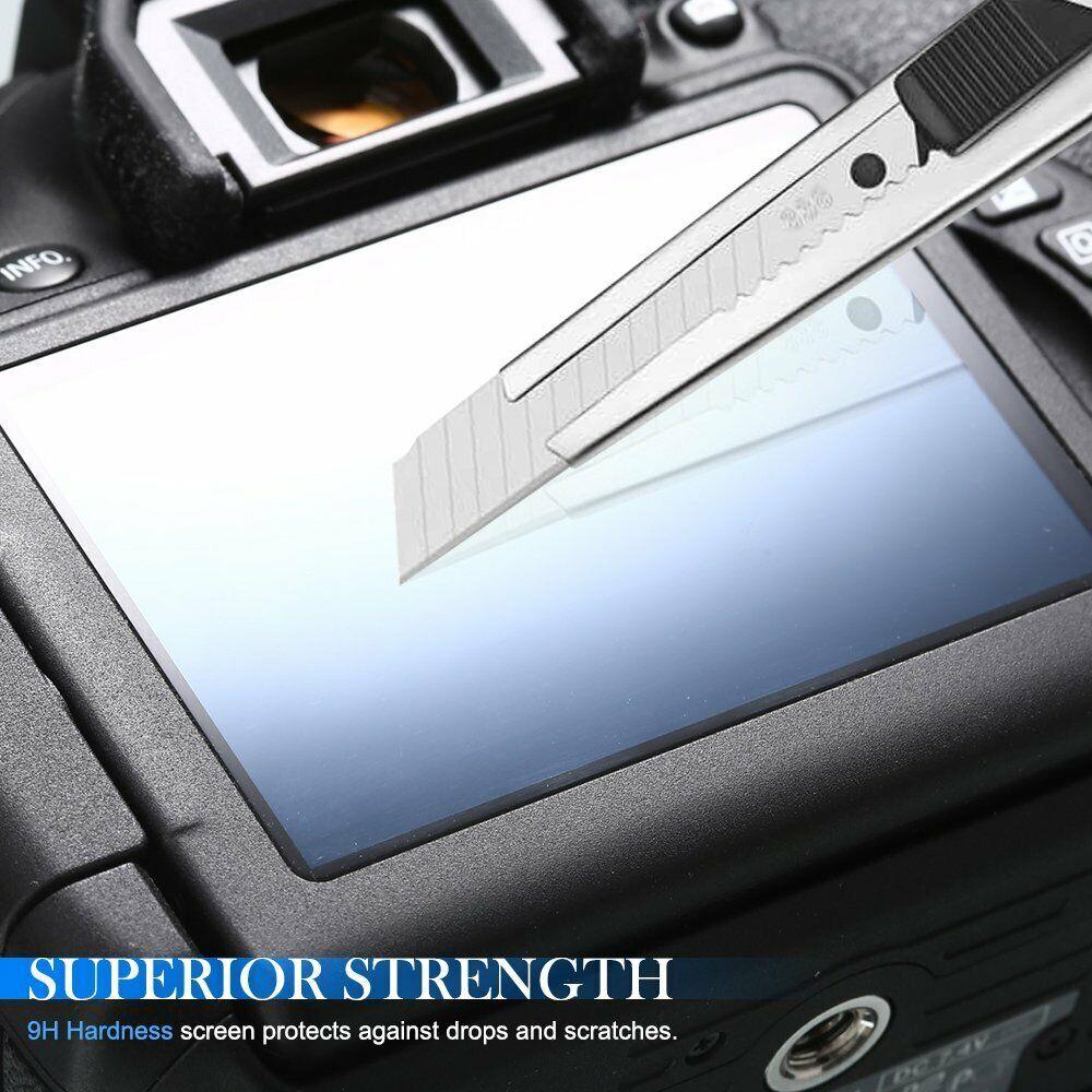 2 pcs 9H Tempered Glass LCD Screen Protector for NIKON Z6II Z7II Z6 II Z7 II