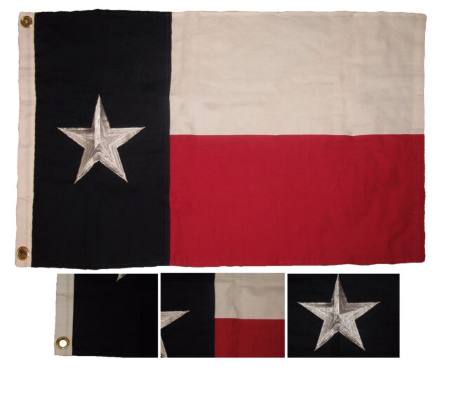 2x3 Embroidered Come Take It Gonzales Gonzalez 100/% Cotton Flag Banner w// Clips