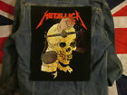 METALLICA HARVESTER OF SORROW  BACKPATCH BACK PATCH    LARGE / HEAVY METAL BLACK