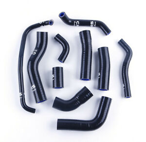 FOR YAMAHA YZF R6 silicone radiator hose kits 2006 2007 06 07 black