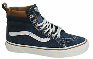 vans sk8 hi mte dress blue