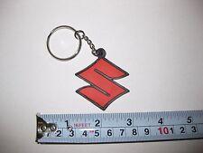 Suzuki Keychain Key Chain S logo OEM Rubber GSX-R Boulevard Hayabusa