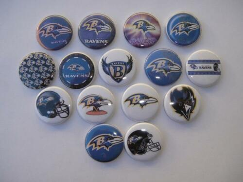 Baltimore Ravens flat back buttons or pin badge cabochons embellishments magnets