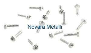 100 microviti Testa Cilindrica M2 M2x5 croce 4.8 viti micro screws