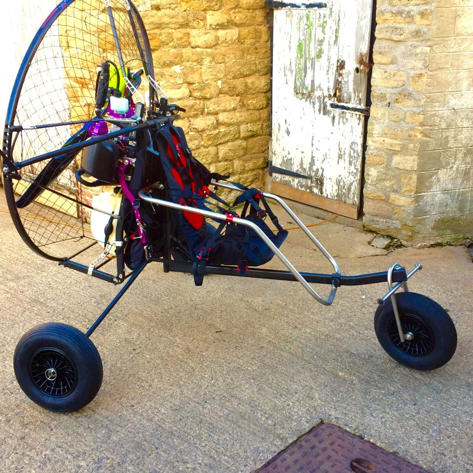 Flymecc carbon S Paramotor + mini trike combo deal save £££££'s