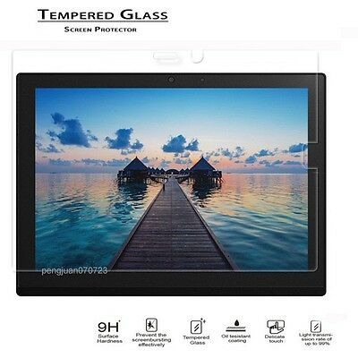 "9H Premium Tempered Glass Screen Protector Film For 12/""Lenovo ThinkPad X1 Tablet"