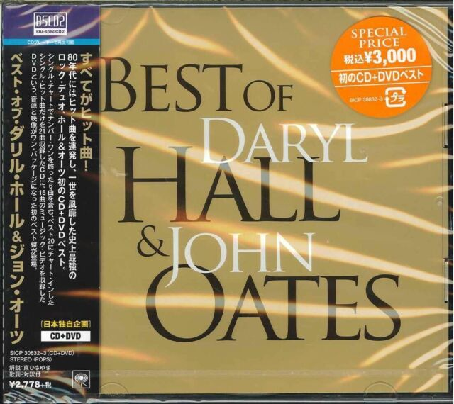 DARYL HALL & JOHN OATES-BEST OF DARYL HALL.-JAPAN ONLY BLU-SPEC CD2+DVD G29