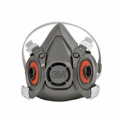 Reusable Face 6300 New Light-weight Grey Half Dark Large Mask Ebay 3m™ Respirator